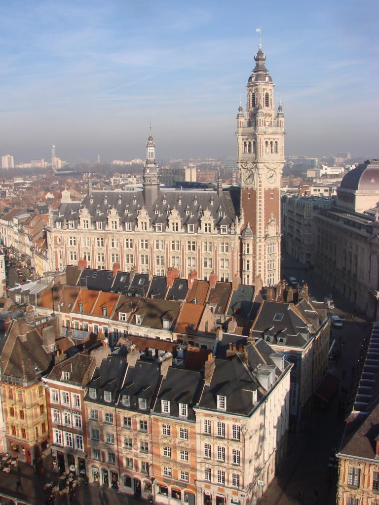 place beffroi lille